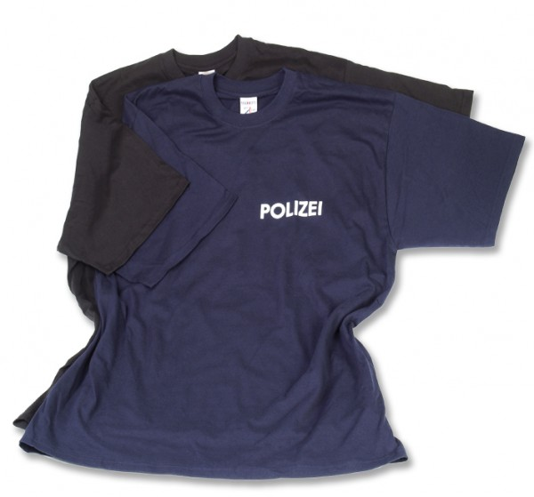 Mehler Law Enforcement Polizei-T-shirt_blau