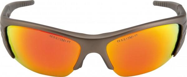 Schutzbrille MAXIM BALLISTIC mit verspiegelter Scheibe