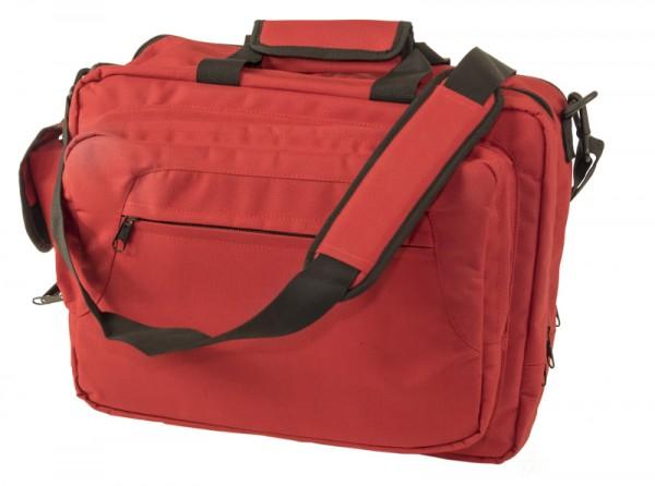 rote Office Bag von Foxtrot Delta 103