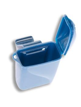 Aufbewahrungsbox für 3M E-A-R Cobat Arms in blau
